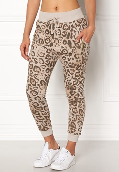 Happy Holly Ida pants Leopard Bubbleroom.se