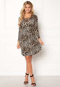 Happy Holly Irina dress Leopard Bubbleroom.fi