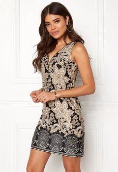 Happy Holly Isabella dress Black / Patterned Bubbleroom.se