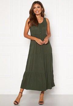 Happy Holly Jacqueline dress Khaki green Bubbleroom.se
