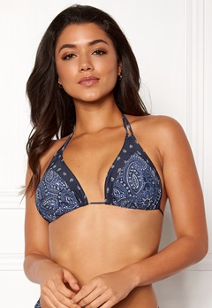 Happy Holly Jade bikini bra Blue / Patterned Bubbleroom.se