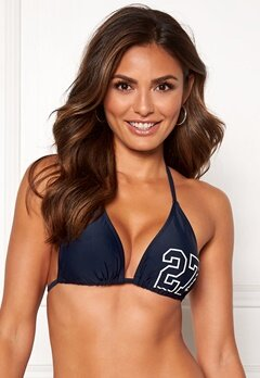 Happy Holly Jade bikini bra Navy Bubbleroom.se