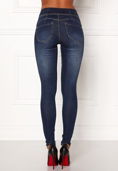 Happy Holly Janice push up Dark denim Bubbleroom.se