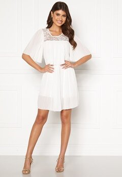 Happy Holly Jannica short dress White Bubbleroom.se