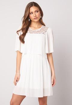 Happy Holly Jannica short dress White Bubbleroom.se