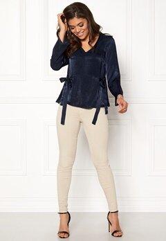 Happy Holly Jannike blouse Dark blue Bubbleroom.no