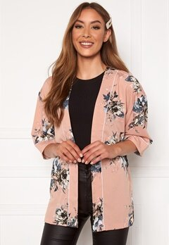 Happy Holly Jelena kimono blouse Pink / Patterned Bubbleroom.se
