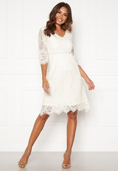 Happy Holly Jenna lace dress White Bubbleroom.se