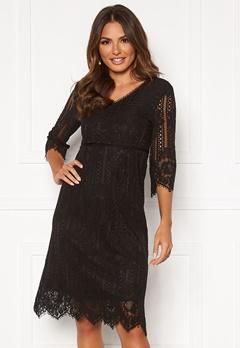 Happy Holly Jenna lace dress Black Bubbleroom.se