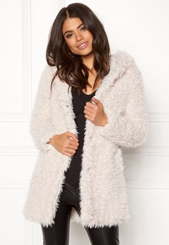 Happy Holly Jenny coat Light beige Bubbleroom.se