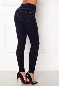 Happy Holly Jess jeggings Dark denim Bubbleroom.se