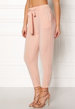 Happy Holly Jonna pants Dusty pink Bubbleroom.se