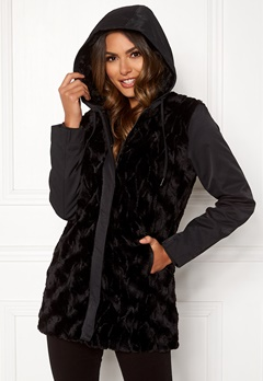 Happy Holly Josephine jacket Black Bubbleroom.se