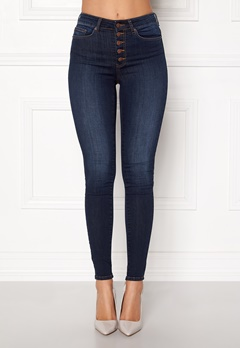 Happy Holly Josie jeans Dark denim Bubbleroom.fi