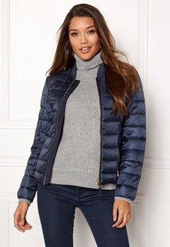 Happy Holly Julia bomber jacket Dark blue Bubbleroom.se