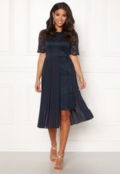 Happy Holly Kajsa dress Dark blue Bubbleroom.se