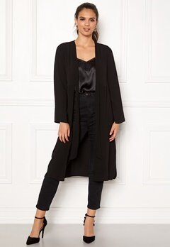 Happy Holly Kathrine coat Black Bubbleroom.se