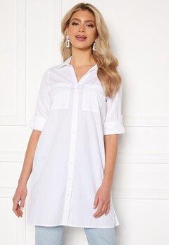 Happy Holly Katrina long shirt White bubbleroom.se