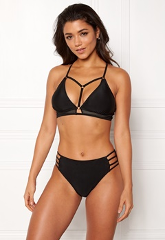 Happy Holly Kendall bikini bra Black Bubbleroom.no