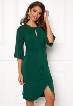 Happy Holly Kim dress Dark green Bubbleroom.se