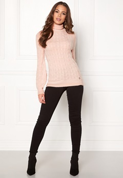 Happy Holly Kira cable knitted sweater  Bubbleroom.se