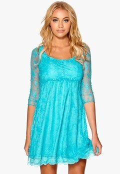 Happy Holly Dress Turquoise Bubbleroom.eu
