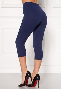Happy Holly Beata Crop leggings Navy / Black Bubbleroom.se