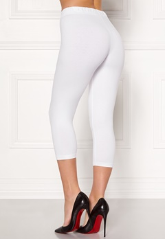 Happy Holly Beata Crop leggings Black / White Bubbleroom.se