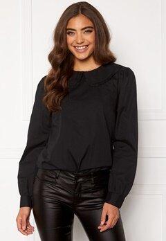 Happy Holly Leona blouse Black Bubbleroom.se