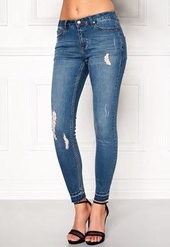 Happy Holly Leonora Jeans Medium denim Bubbleroom.no