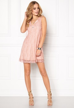 Happy Holly Lilly Dress Light pink Bubbleroom.eu