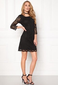 Happy Holly Lina lace dress Black Bubbleroom.fi