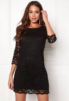 Happy Holly Lina lace dress Black Bubbleroom.se