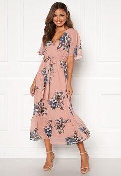 Happy Holly Linnea maxi dress Dusty pink / Patterned Bubbleroom.se