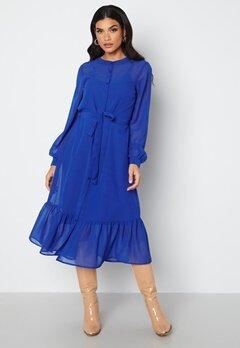 Happy Holly Lovis Midi Dress Blue bubbleroom.se
