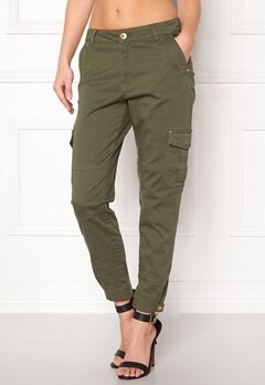 Happy Holly Lucy trousers Khaki green Bubbleroom.se