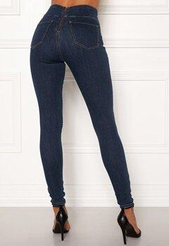 Happy Holly Lyra zip pants Medium denim Bubbleroom.se