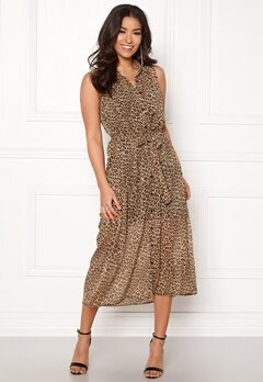 Happy Holly Maddy dress Leopard Bubbleroom.se
