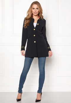 Happy Holly Maddy coat Dark blue Bubbleroom.se