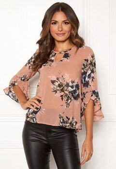 Happy Holly Madelyn Blouse Pink / Patterned Bubbleroom.se