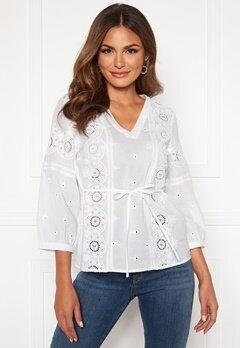 Happy Holly Majken blouse White Bubbleroom.se