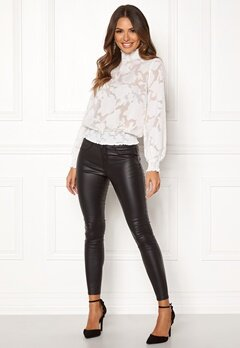 Happy Holly Mandy blouse Offwhite Bubbleroom.se