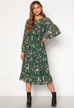 Happy Holly Marcella dress Green / Patterned Bubbleroom.se