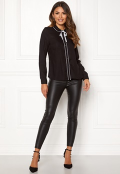 Happy Holly Margaux blouse Black Bubbleroom.se