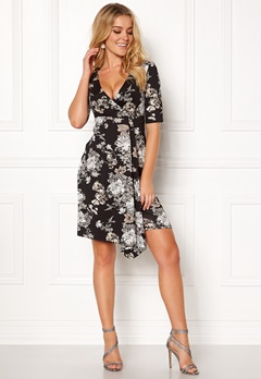 Happy Holly Mariana dress Black / Patterned Bubbleroom.se