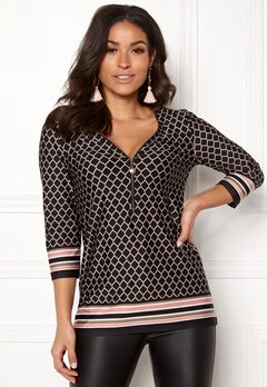 Happy Holly Marion top Patterned Bubbleroom.se