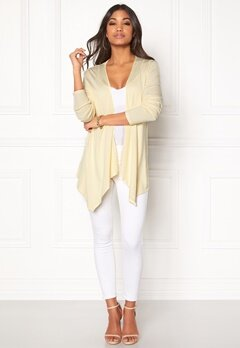 Happy Holly Marit Cardigan Light yellow Bubbleroom.eu