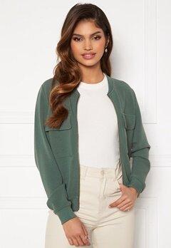 Happy Holly Maya pocket jacket Dusty green Bubbleroom.se