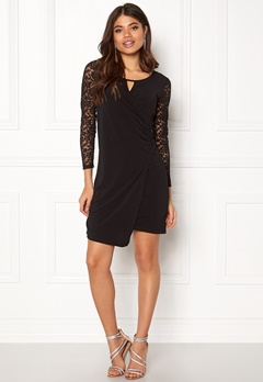 Happy Holly Melina dress Black Bubbleroom.se