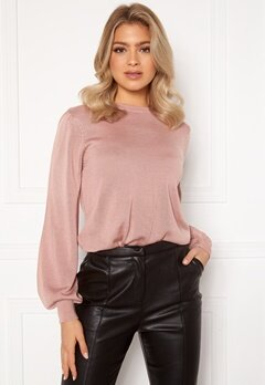 Happy Holly Melina sweater Dusty pink Bubbleroom.se